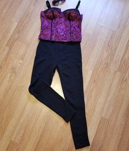Connection 18 Paisley Patterned Dress Pants